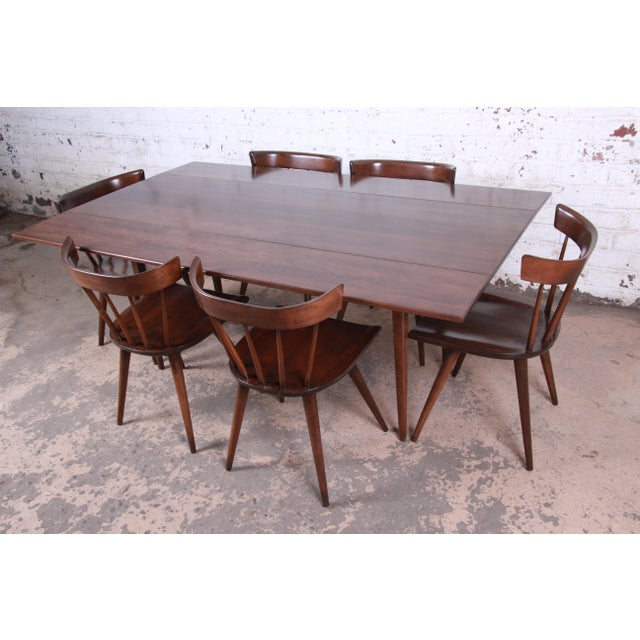 Contemporary Paul McCobb Planner Group Mid-Century Modern Dining Set, Newly Restored For Sale - Image 3 of 13