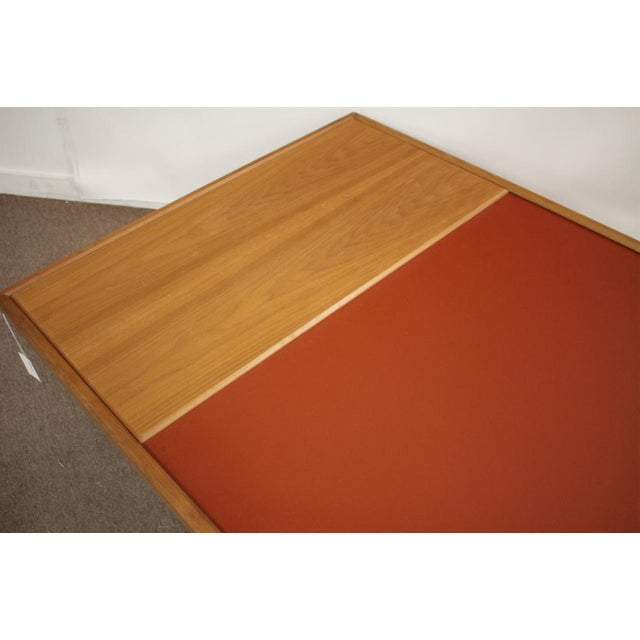 """Beautiful large walnut and enameled metal """"Riverbed Coffee Table"""". Made by the Italian designer Donghia. Really great..."""
