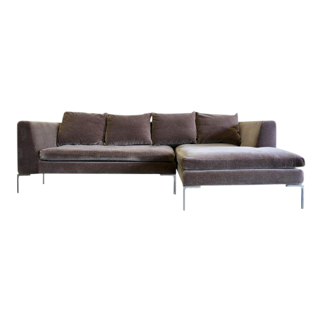 Charles Sofa By Antonio Citterio For B B Italia In Mohair Chairish