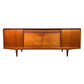 1960s Mid Century Modern Clausen and Son Teak Credenza For Sale
