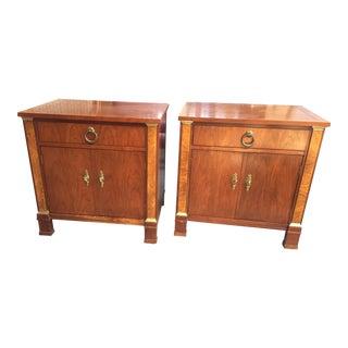 Baker Furniture Palladian Nightstands - a Pair