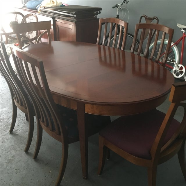 Grange France Dining Table With Six Chairs - Image 3 of 10