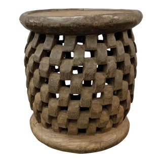 Outstanding Early 20th Century Bamileke Stool For Sale