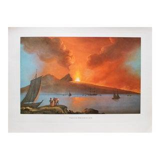 "1964 ""Vesuvius, Eruption 1828"" Original Lithograph For Sale"