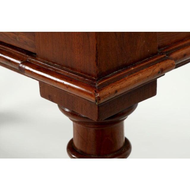English Mahogany Writing Desk - Image 11 of 11