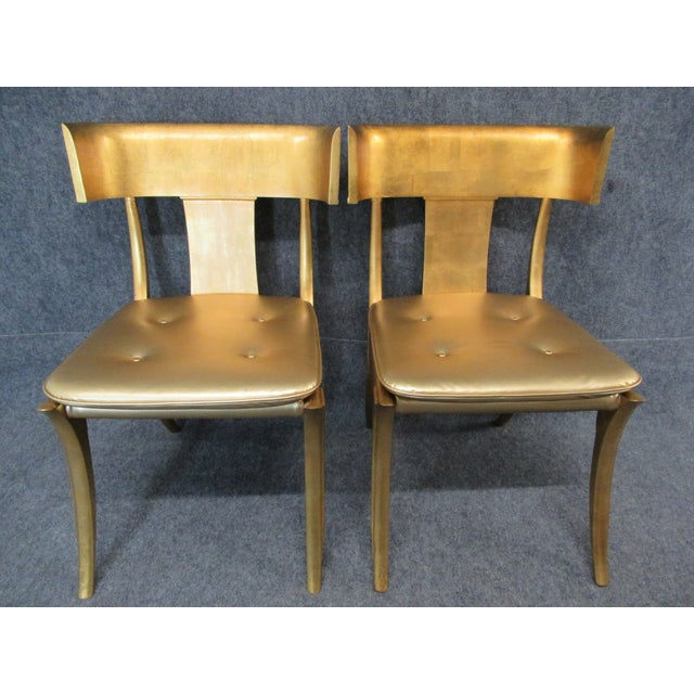 Vintage Mid-Century Modern Klismos Chairs- a Pair For Sale - Image 13 of 13