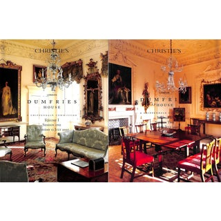 Dumfries House A Chippendale Commission Christie's London July 12-13 2007 Vols I & II For Sale