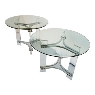 Charles Hollis Jones Side Tables - a Pair For Sale