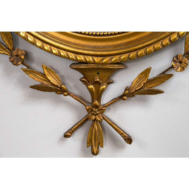 Adams Style Giltwood and Gesso Carved Mirror - Image 3 of 7