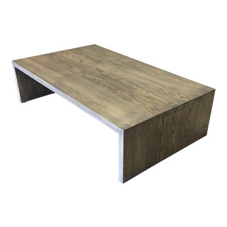 Waterfall Coffee Table 2 For Sale