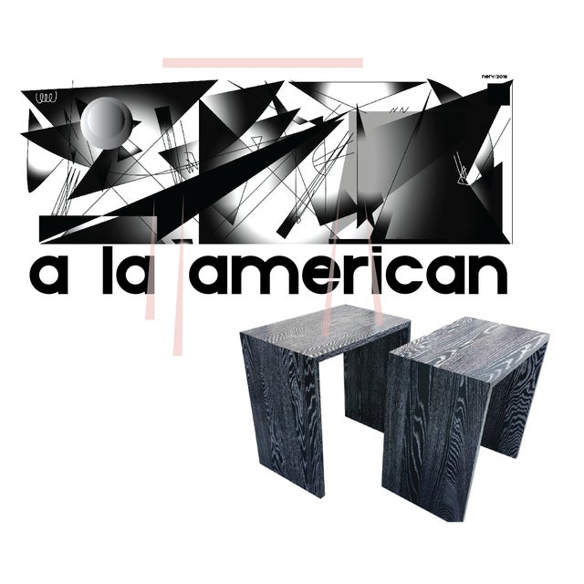 "Contemporary Custom to Order ""A La American"" Collection Tables For Sale - Image 3 of 7"