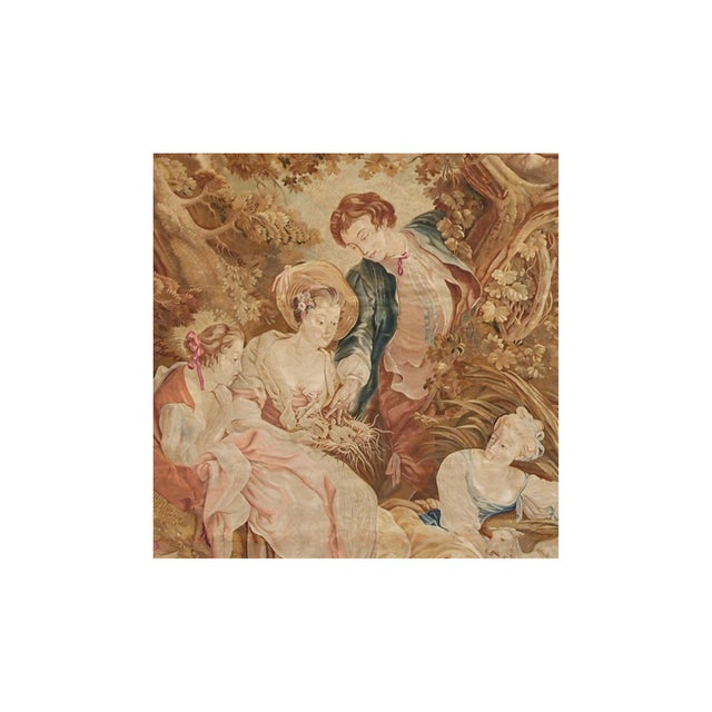 Traditional 19th Century Antique Tapestry Cartoon by François Boucher For Sale - Image 3 of 6