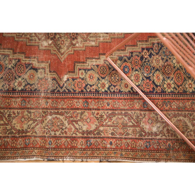 "Antique Fereghan Rug - 4'1"" x 6'3"" - Image 9 of 9"