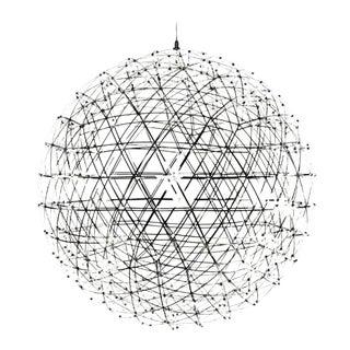 Raimond Moooi Led Stainless Steel Sphere Globe Chandelier For Sale