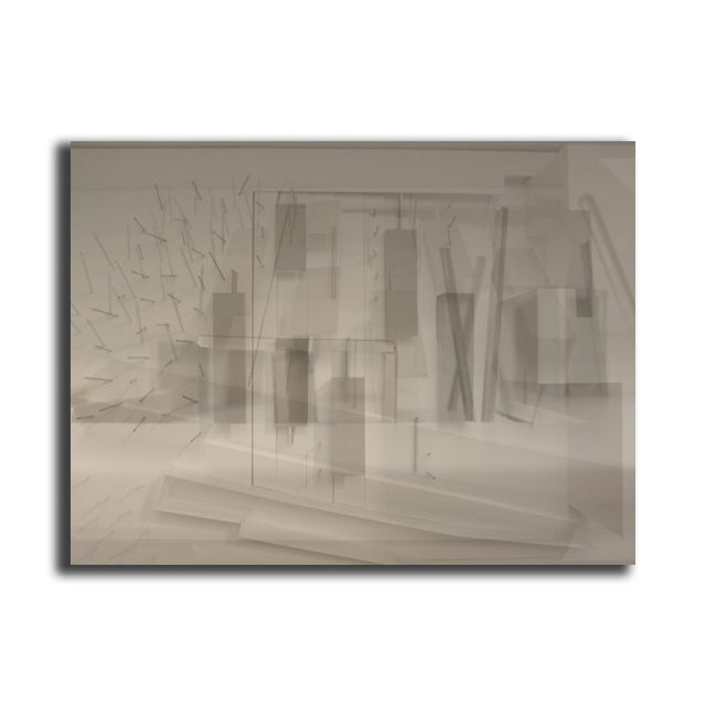 "Petra Hribar ""Space"" Floating Print - Image 2 of 2"