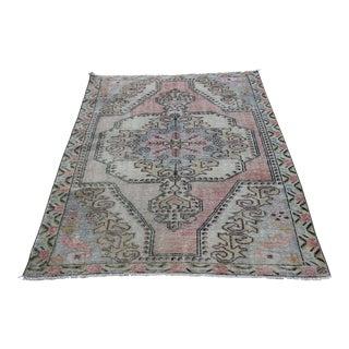 Vintage Decorative Home Carpet - 7' 2'' x 4' 3''