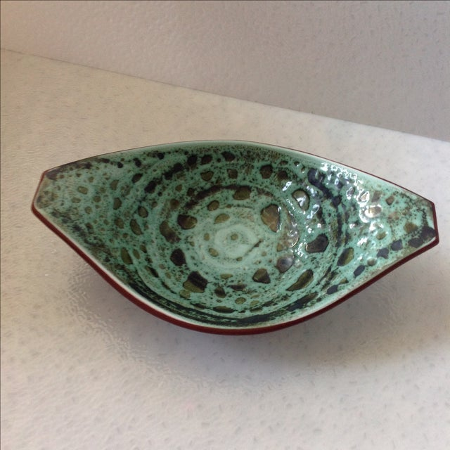 Scandinavian Art Pottery Bowl For Sale In Chicago - Image 6 of 8
