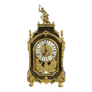 Antique French Boulle Bracket Clock For Sale