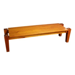 Rob Edley Welborn Spanish Cedar Prototype Coffee Table For Sale