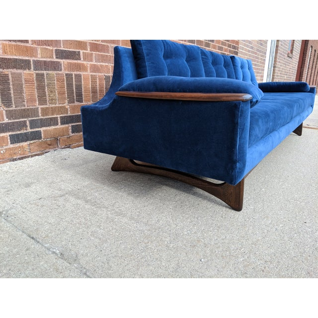 Vintage Mid-Century Sofa For Sale - Image 9 of 10