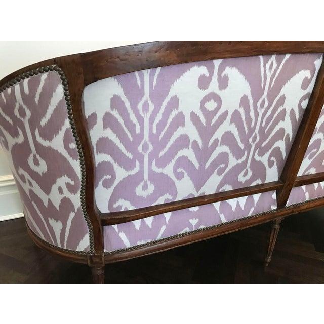 Louis XVI Style Three Seat Sofa - Image 4 of 9