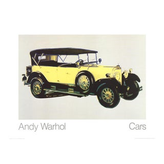 Andy Warhol_Mercedes Typ 400_1925 For Sale