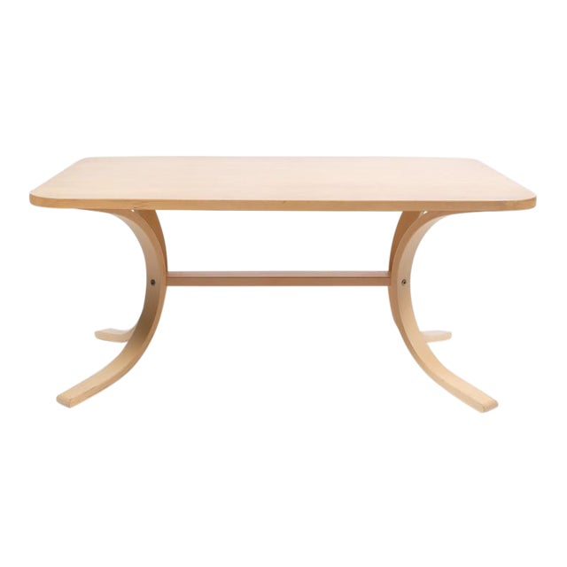 Asko Mid-Century Modern-Style Birch Coffee Table For Sale