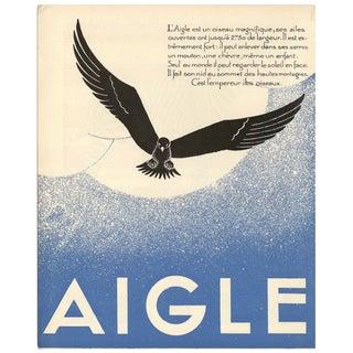 1930s French Art Deco Eagle Giclée Print