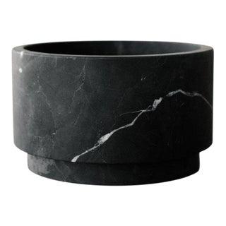 Cilandro Bajo Bowl in Black Marble, Mexico 2019 For Sale