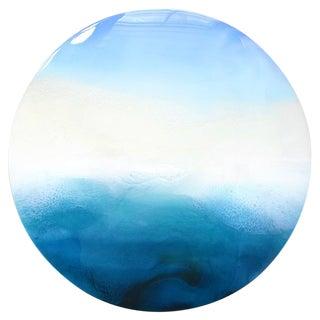 """Emerald Waters"" Original Painting on Wood"