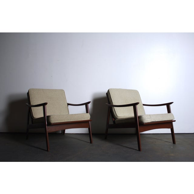 Mid Century Modern Yugoslavian Chairs - Pair - Image 4 of 4