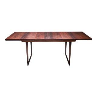 1960s Danish Modern Design Rosewood Dining Table Kai Kristiansen For Sale
