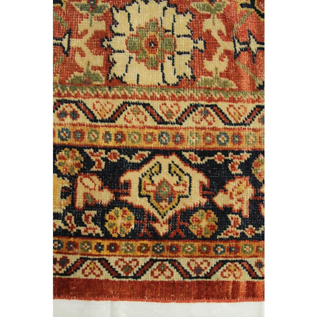 1920s Vintage Persian Sultanabad Rug - 10′4″ × 16′ For Sale - Image 9 of 10