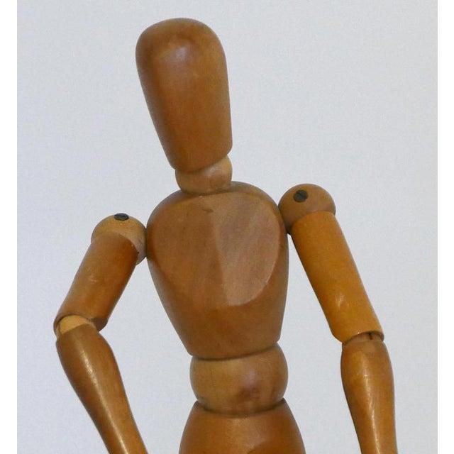 1950s Vintage Wooden Artist Mannequin For Sale - Image 5 of 10