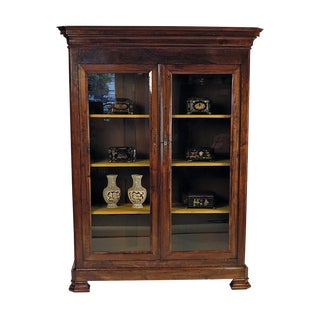 19th Century French Louis Philippe Bookcase