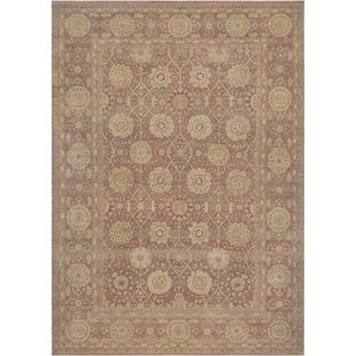 Mansour Extraordianry Handwoven Tabriz Rug For Sale