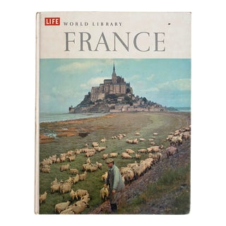 "1960 Vintage ""Life World Library: France"" Hardcover Book For Sale"