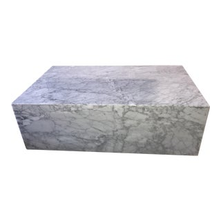 Mid-Century Modern Marble Coffee Table