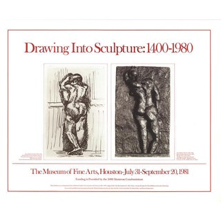 Henri Matisse-Drawing Into Sculpture: 1400-1980-1981 Poster