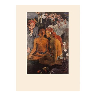 """1950s Paul Gauguin """"The Call"""", First Edition Lithograph For Sale"""