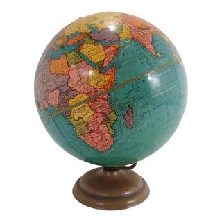 Mid Century Cram's Terrestrial World Globe For Sale
