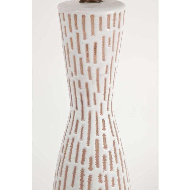 Raymor Raymor Italian Ceramic Table Lamp For Sale - Image 4 of 8
