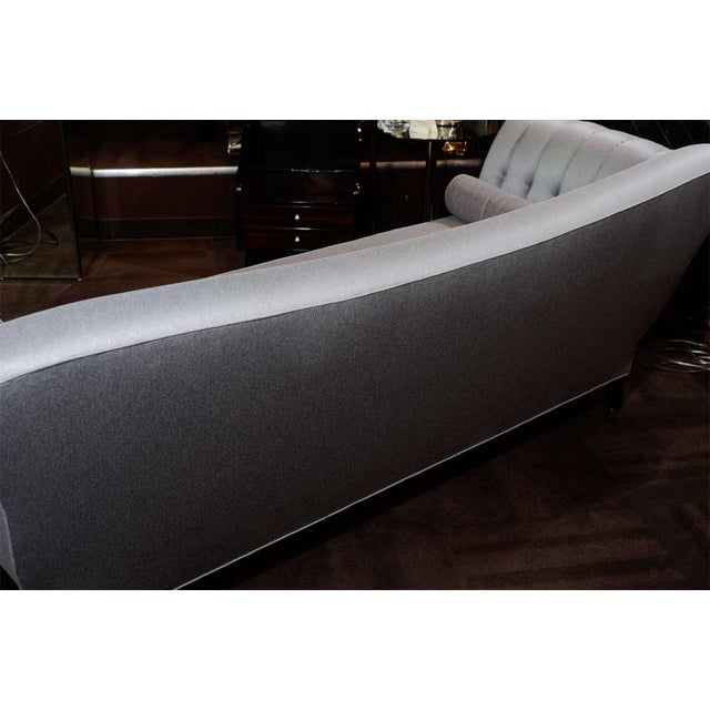1940s Hollywood Scrolled Sofa For Sale - Image 10 of 11