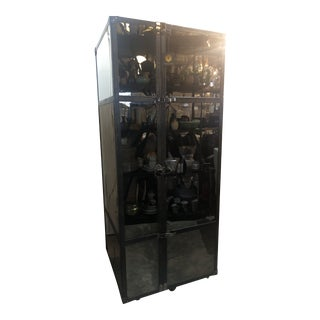 Mirrored Bar Trunk For Sale