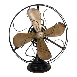 1930s Machine Age Era Table Fan For Sale