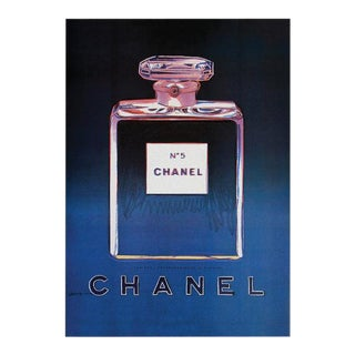 Vintage Andy Warhol Chanel No 5 Poster
