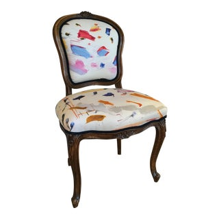 Vintage French Bergere Chair