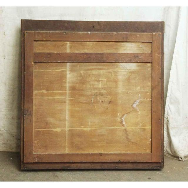 Burlwood Burled Wood Frame Mirror For Image 7 Of