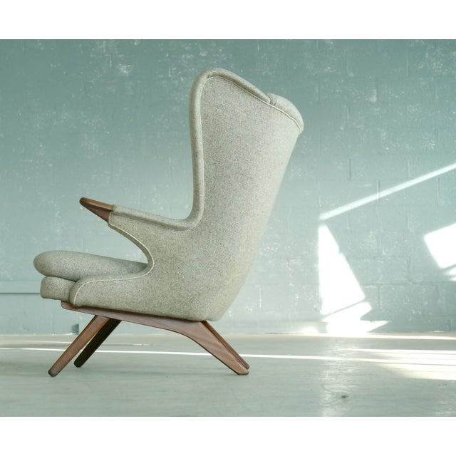 Sven Skipper 1960s Papa Bear Chair Model 91 in the Style of Hans Wegner For Sale In New York - Image 6 of 11