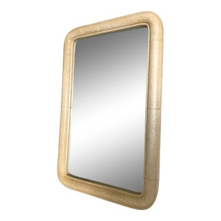 Sirmos Style Faux Stone Mirror For Sale